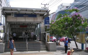 Alleviation method: Bangkok metro