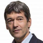 Close-up portrait photograph of Dr. Michiel de Looze of TNO