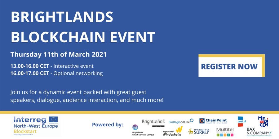 Brightlands blockchain event